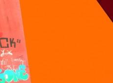 Pont Rouge, 1-16, orange mit Schrift