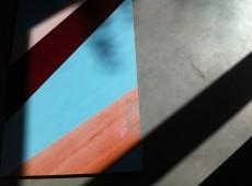 Pont Rouge blau, Installation